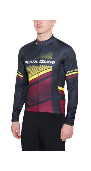 PEARL iZUMi ELITE Thermal LTD jersey lange mouwen Heren zwart